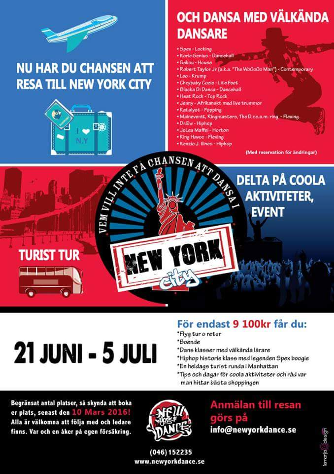 Resa till New York City